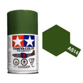 Farba w sprayu Tamiya AS-14 Olive Green Usaf