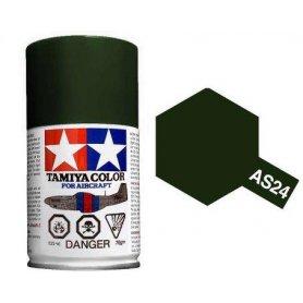 Farba w sprayu Tamiya AS-24 Dark Green Luft