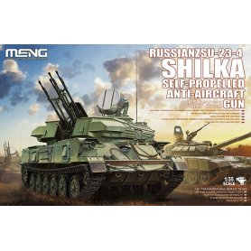Meng 1:35 TS-023 ZSU-23-4 Shilka SP A-A gun