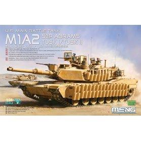 Meng 1:35 TS-026 M1A2 SEP Abrams Tusk I/Tusk II