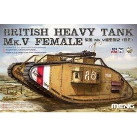 Meng TS-029 British Tank Mk.V Female