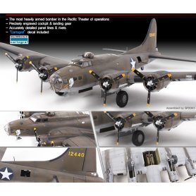 Academy 12533 B-17E USSAF Pacific Theater 1/72