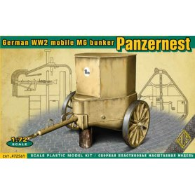 Ace 72561 Panzer nest - German II mobile MG bunker