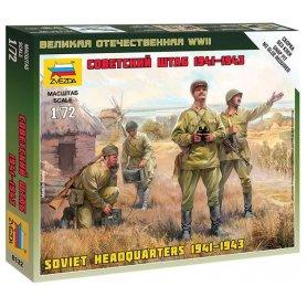 Zvezda 6132 1/72 Soviet HQ WWII