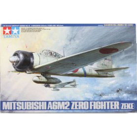 Tamiya 1:48 61016 A6M2 Type 21 Zero Fighter Kit - CO116