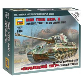 Zvezda 6204 Sd.Kfz 182 King Tiger Henschel