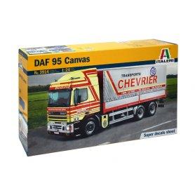 Italeri 1:24 DAF 95 Canvas Truck