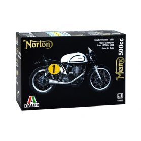 Italeri 1:9 Norton Manx 500cc - WORLD CHAMPION FROM 1950 TO 1951 - RIDER G. DUKE