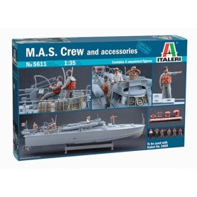 Italeri 5611 M.A.S Crew & Accessor.