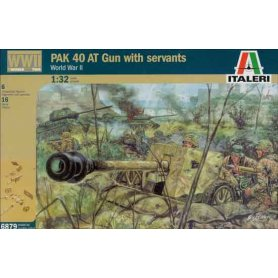 Italeri 6879 WWII Pak40 W/S