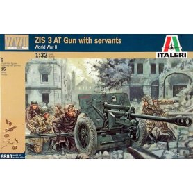 ITALERI 6880 WWII ZIS3 AT W/S