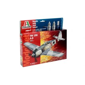 Italeri 70392 Zestaw model. - Focke Wulf FW-190 A8