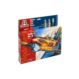 Italeri 1:72 Supermarine Spitfire Mk.Vb - MODEL SET - z farbami