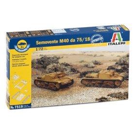 ITALERI 7519 SEMOVENTE M40 da75