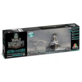 Italeri 46501 World Of War Ship : Bismarck