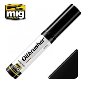 Ammo of MIG Oilbrusher Black