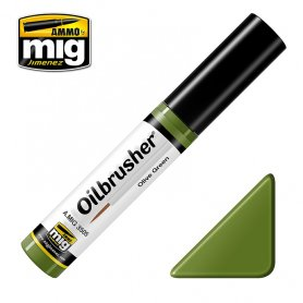 Ammo of MIG Oilbrusher Olive Green