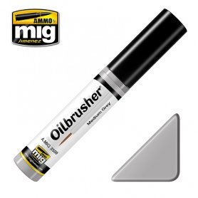 Ammo of MIG Oilbrusher Medium Grey