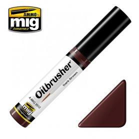 Ammo of MIG Oilbrusher Dark Brown