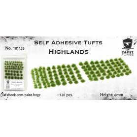 Kępki trawy Highlands Tufts 6mm