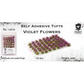 Kwiatki Violet Flowers 6mm