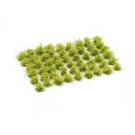 Kwiatki Light Green Flowers 6mm