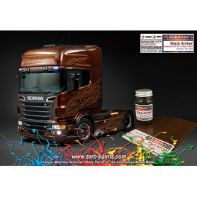 Farba Zero Paints 1347 Black Amber Scania R730 V8 / Italeri 60ml