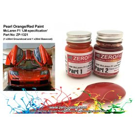 Farba Zero Paints 1321 1998 Mclaren F1 LM-Spec Orange/Red 2x30ml