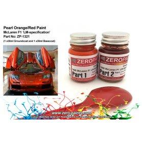 Farba Zero Paints 1321 1998 Mclaren F1 LM-Spec Orange/Red 2x30ml