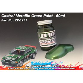 Farba Zero Paints 1251 Castrol Metallic Green Nissan Skyline 60ml