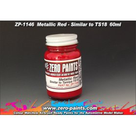 Farba Zero Paints 1146 Metallic Red Similar to TS18 60ml
