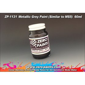 Farba Zero Paints 1131 Metallic Grey Similar to MS5 60ml