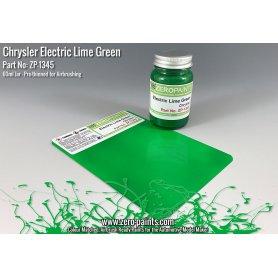 Farba Zero Paints 1345 Chrysler Electric Lime Green 60ml