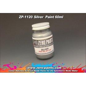 Farba Zero Paints 1120 Silver 60ml