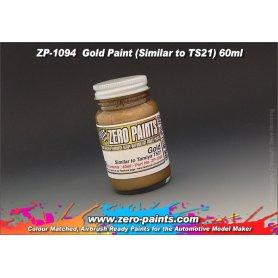 Farba Zero Paints 1094 Gold Similar to TS21 60ml