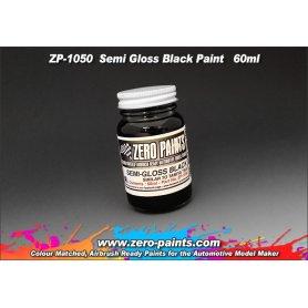 Farba Zero Paints 1050 Semi Gloss Black 60ml
