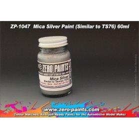 Farba Zero Paints 1047 Mica Silver Similar TS76 60ml