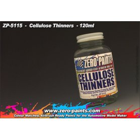 Zero Paints 5115 Cellulose Thinners 120ml