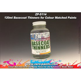 Zero Paints 5114 Basecoat Thinners 120ml