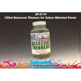 Zero Paints 5114 Basecoat Thinners 120ml