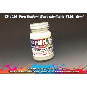 Farba Zero Paints 1026 Pure Brilliant White Paint Similar TS26