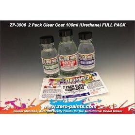 Lakier bezbarwny 2 składnikowy Zero Paints Gloss 2 Pack Clearcoat 100ml