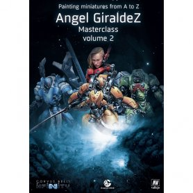 Książka Painting Miniatures from A to Z Vol.2 Angel Giraldez