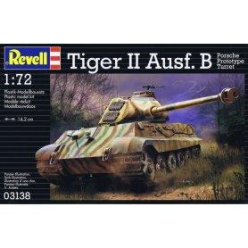 REVELL 1:72 03138 TIGER II AUSF.B PORSCHE PROTOTYPE TURRET