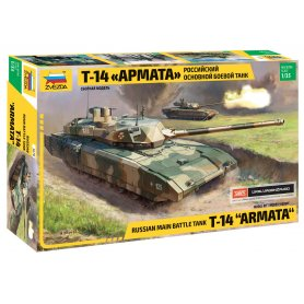 Zvezda 3670 Russian Moderm Tank T-14