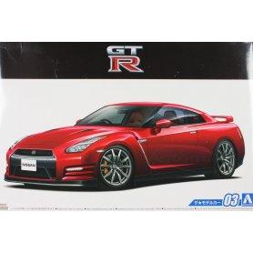 Aoshima 1:24 Nissan R35 GT-R Pure Edition 2014