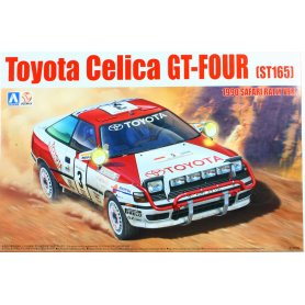 Aoshima 1:24 Toyota Celica GT-FOUR ST165 Safari Rally 1990