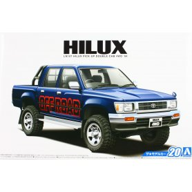 Aoshima 1:24 Toyota Hilux LN 107Pickup Double Cab Lift Up 1994