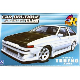Aoshima 1:24 Toyota Trueno AE86 Car Boutique Club