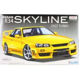 Fujimi 1:24 Nissan Skyline GT-R R34